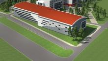 Универсальные спортивные залы 45х24 м, 36х18м