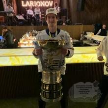 Студент ДВГАФК – победитель Чемпионата МХЛ!